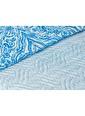 Madame Coco Cadance Çok Amaçlı Çift Kişilik Yatak Örtüsü Mavi